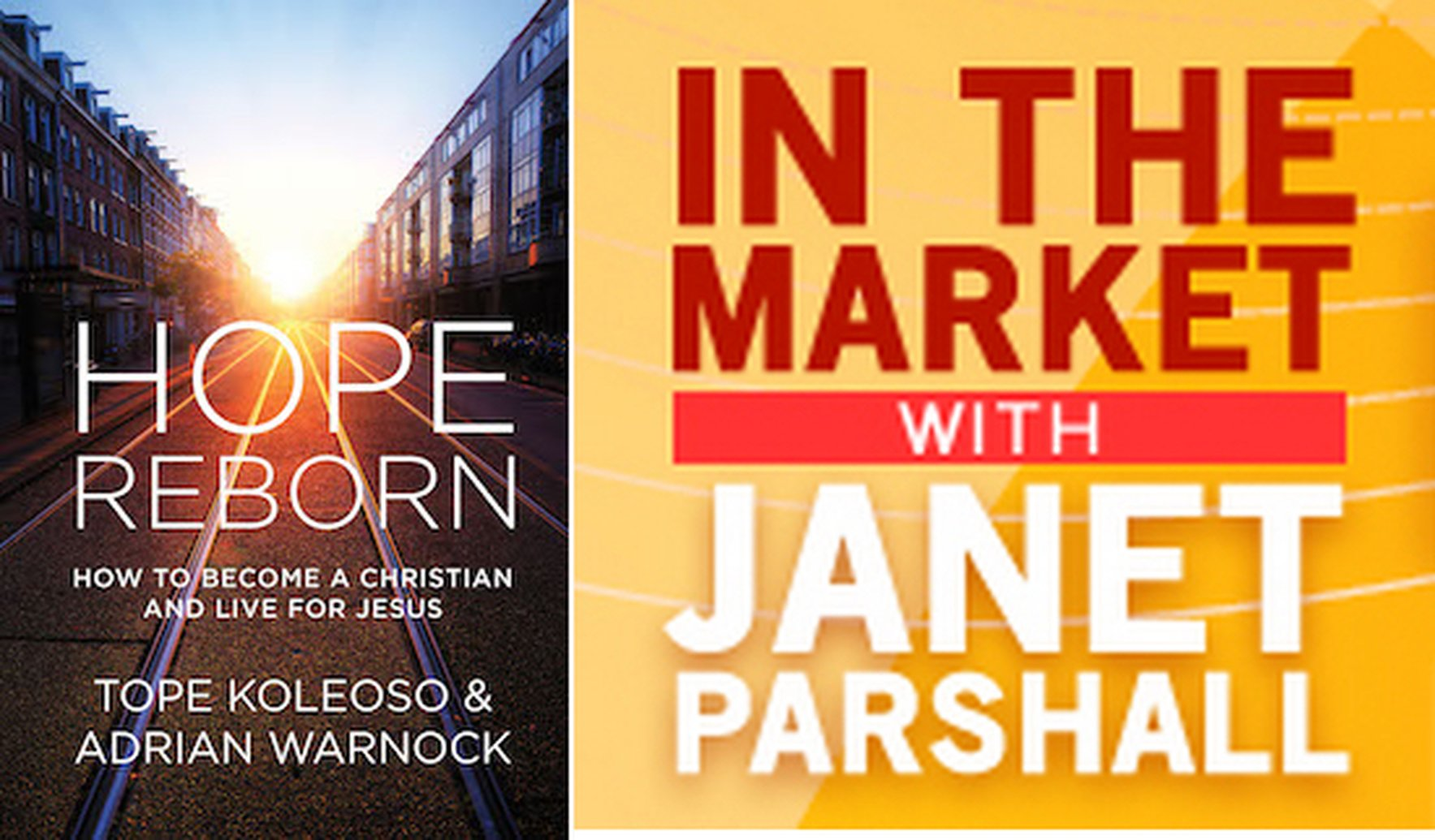 Adrian Warnock Discusses Hope Reborn on In the Market with Janet Parshall