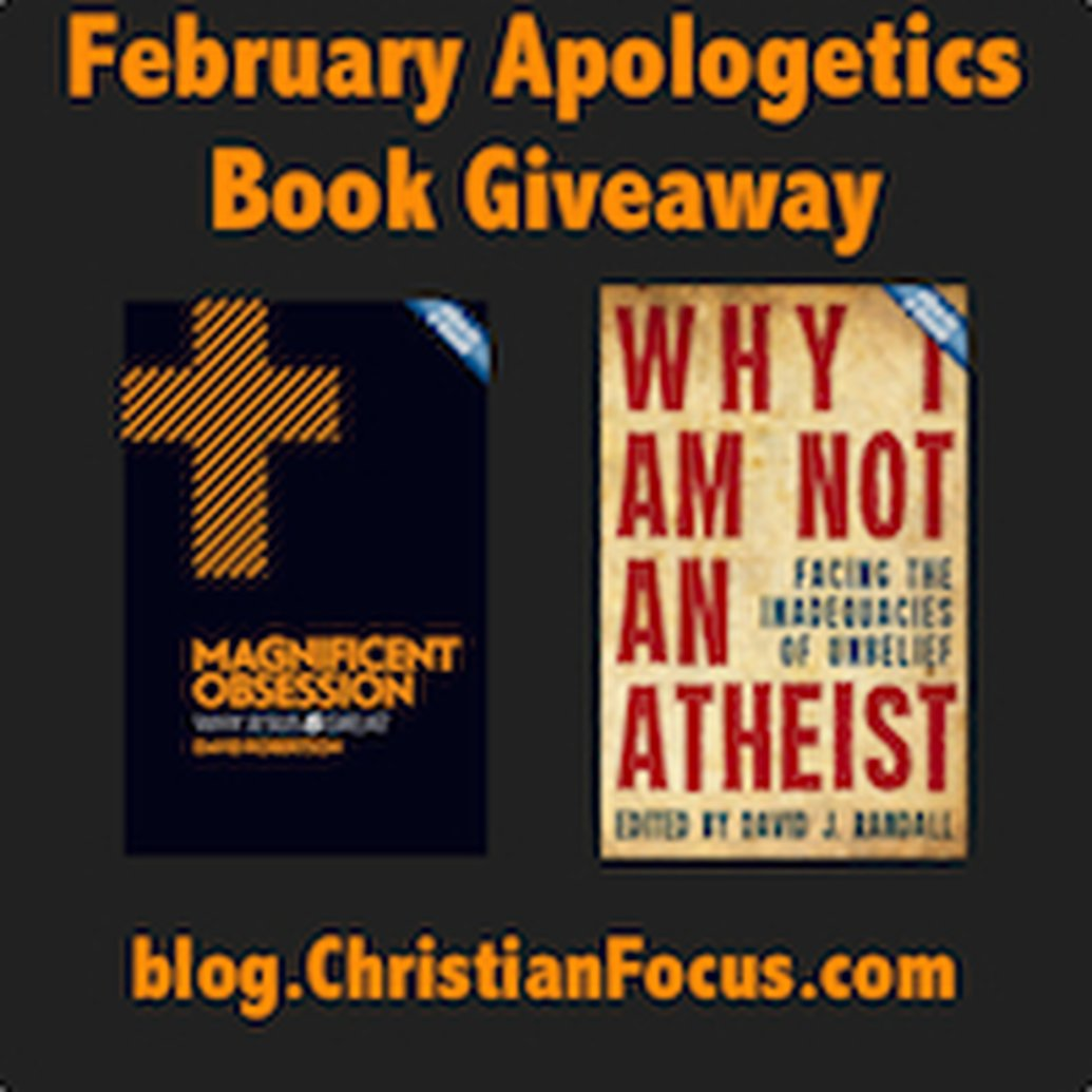 February Apologetics Book Giveaway Winners