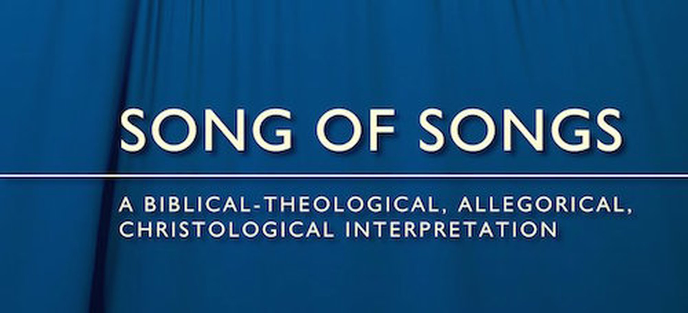 Why You Need to Preach the Song of Songs - Dr. Jim Hamilton
