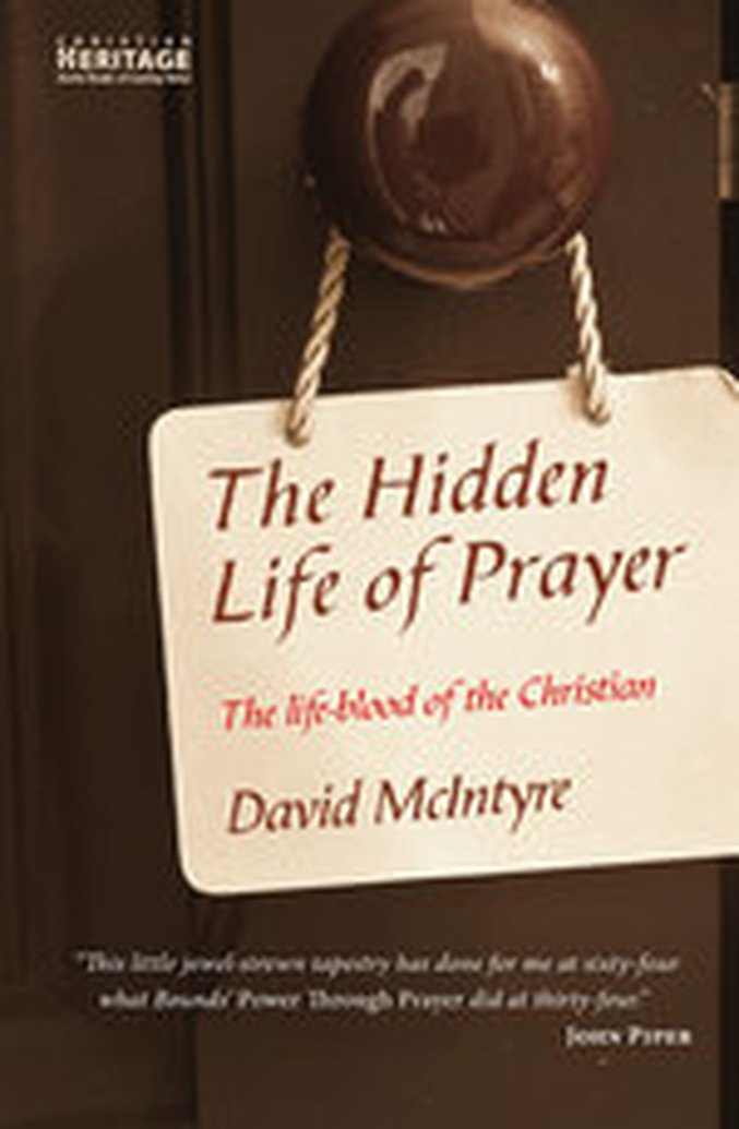 E-Book Sale: The Hidden Life of Prayer by David McIntyre