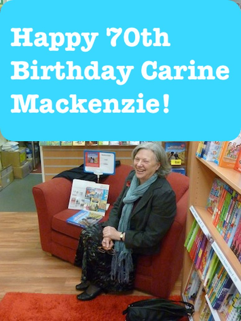 Happy 70th Birthday Carine Mackenzie!