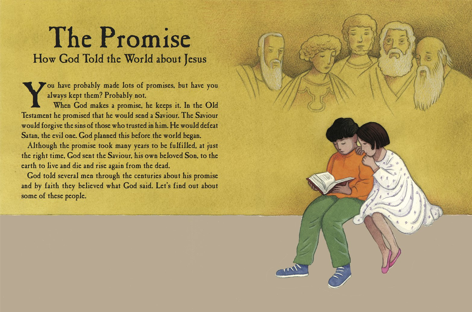New From Carine MacKenzie: The Promise: How God Told the World about Jesus