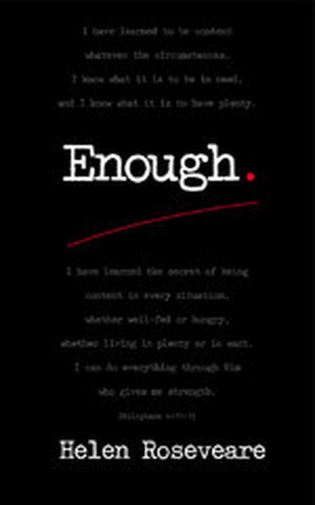 Announcing the Enough Blog Tour - October 24-28