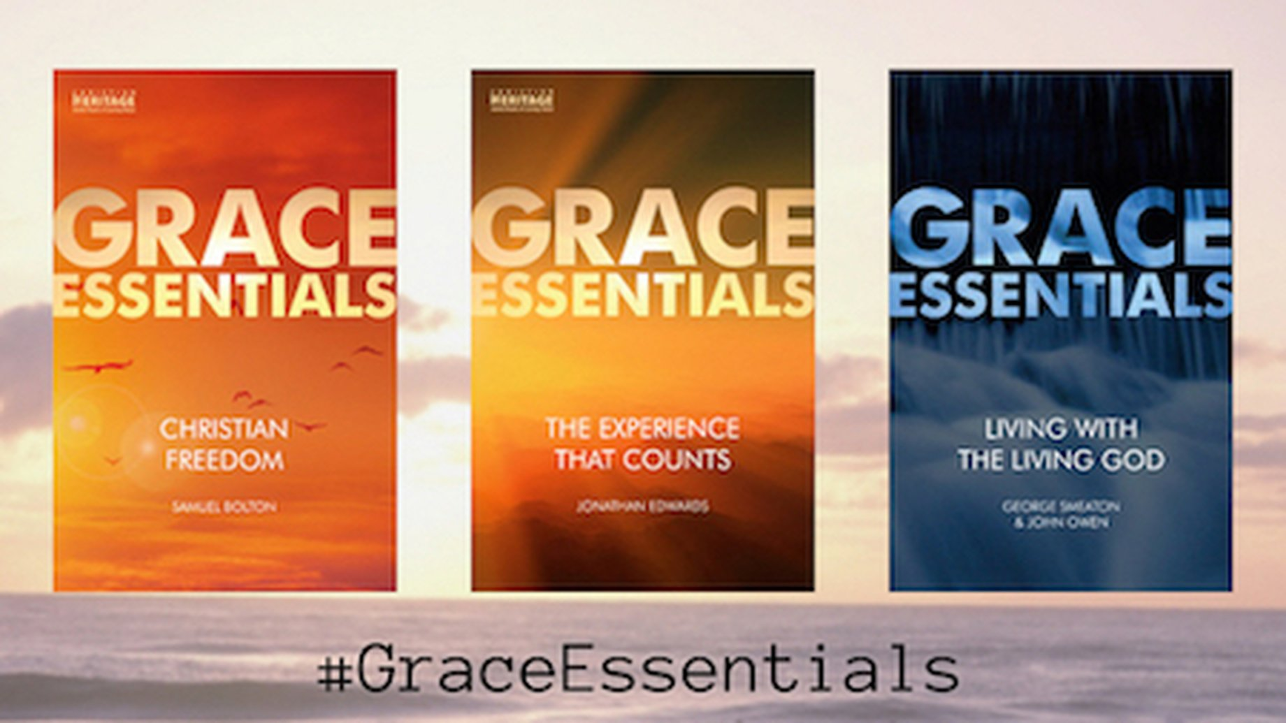 3 Must Read Books in the Grace Essentials Series