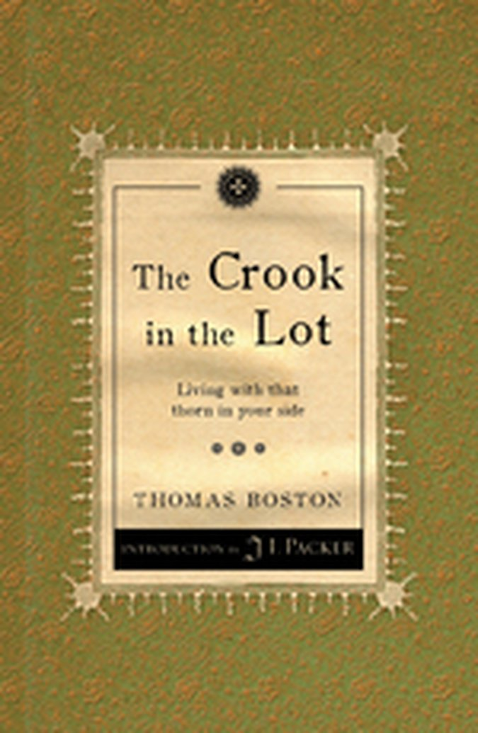 August Book Giveaway - The Crook in the Lot by Thomas Boston