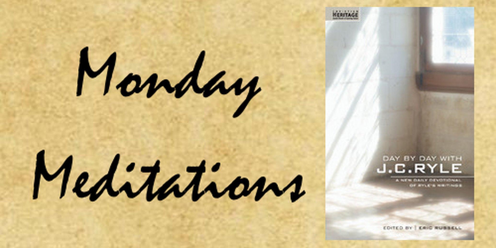 Monday Meditations: Unity