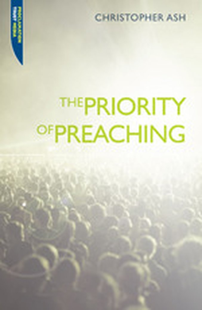 Announcing The Priority of Preaching Blog Tour - January 23-27