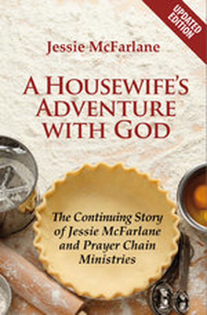 New Release - A Housewife's Adventure with God by Jessie McFarlane