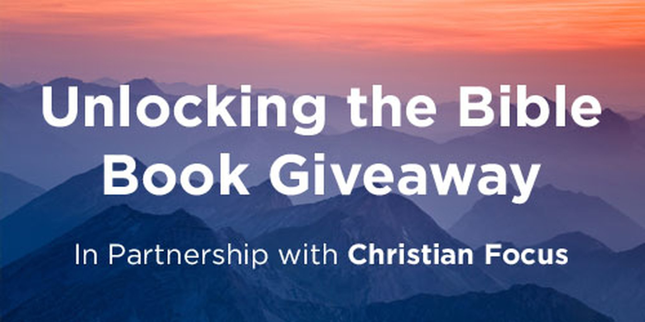 Unlocking The Bible Giveaway
