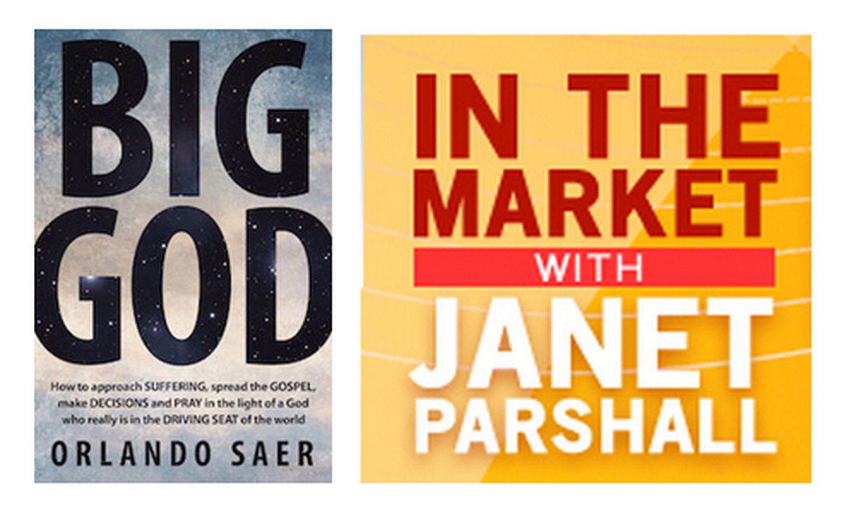 Orlando Saer Discusses 'Big God' on In the Market with Janet Parshall