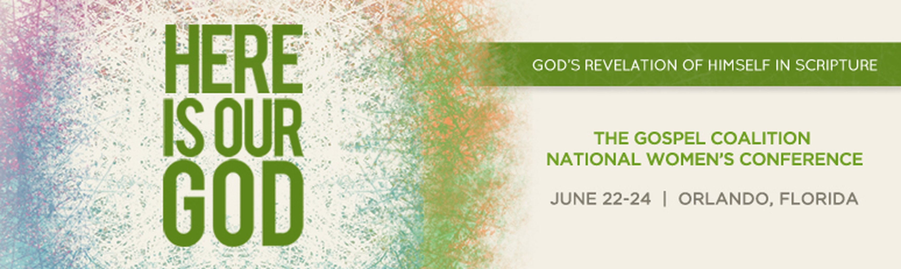 On Location - The Gospel Coalition National Women's Conference - June 22-24