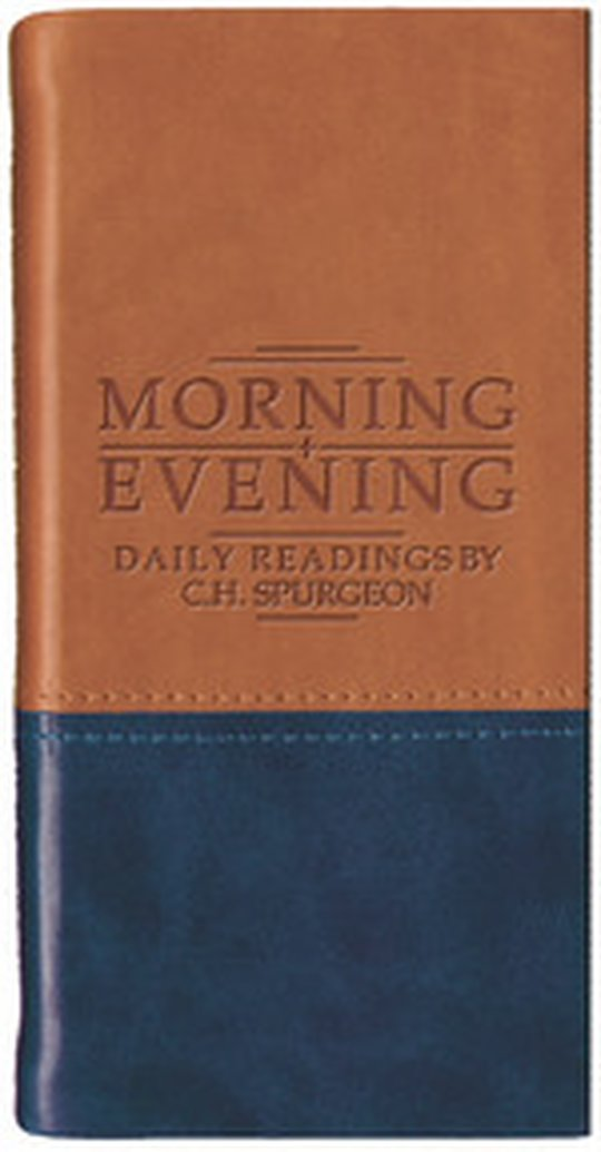 Books Change Lives - Morning and Evening: Daily Readings by C. H. Spurgeon