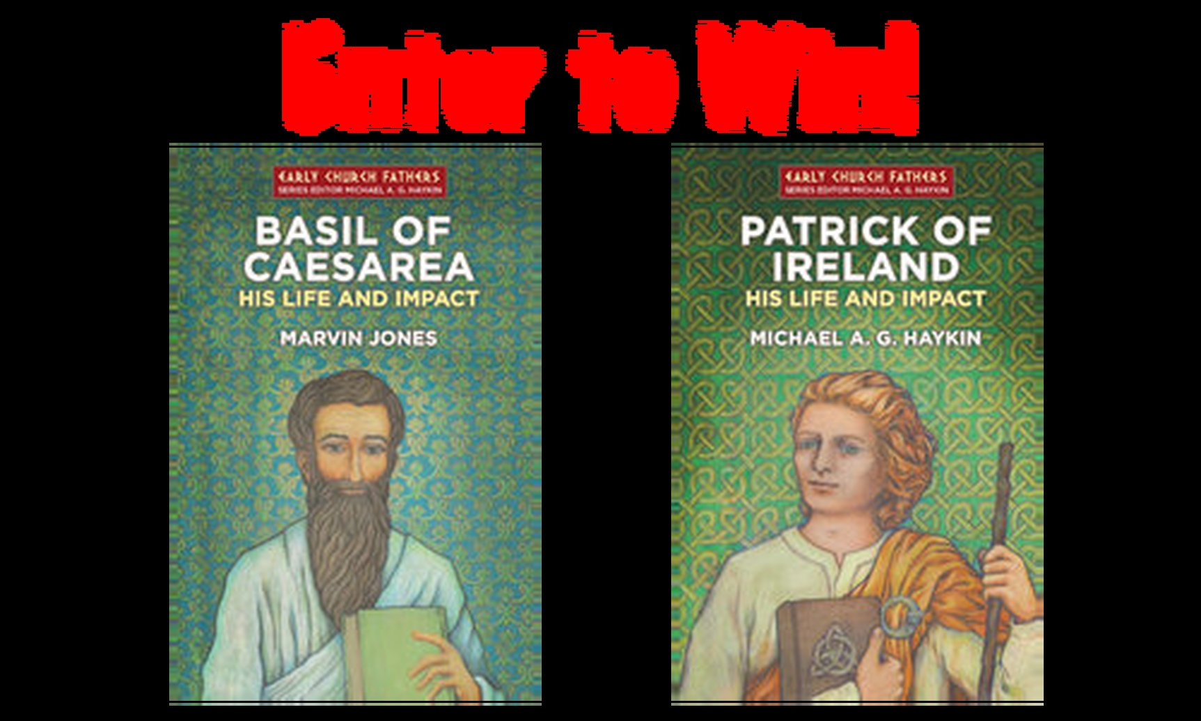 Enter to win 2 volumes from the Early Church Fathers series!