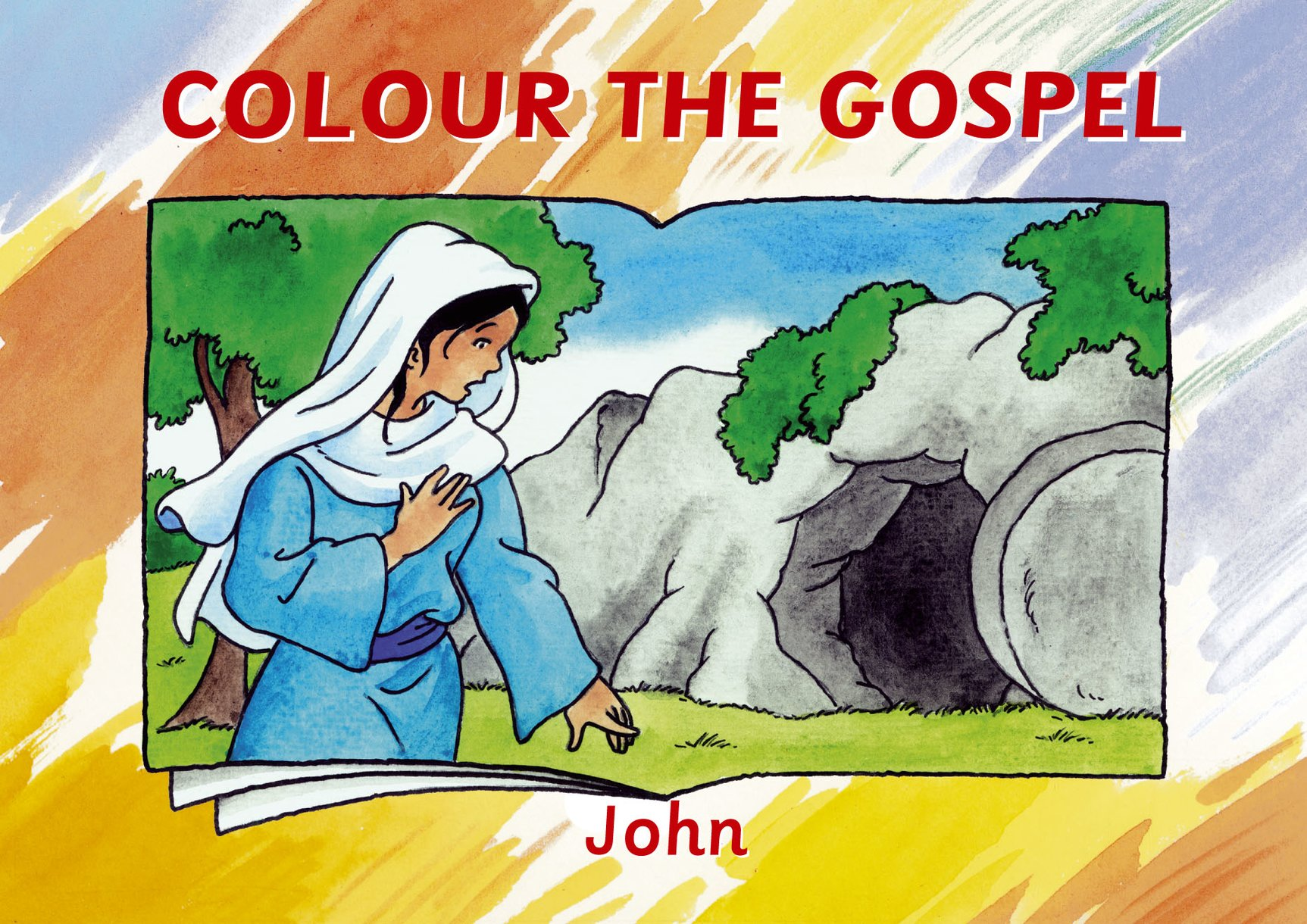 Colour the Gospel: John by Carine MacKenzie - Christian Focus
