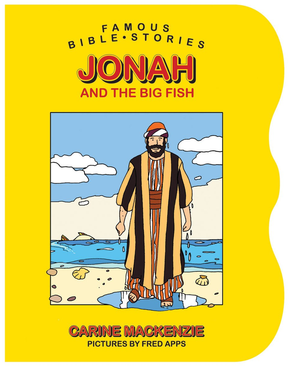 famous bible stories jonah and the big fish by carine mackenzie