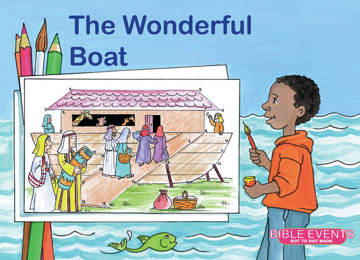The Wonderful Boat, Bible Events Dot to Dot Book
