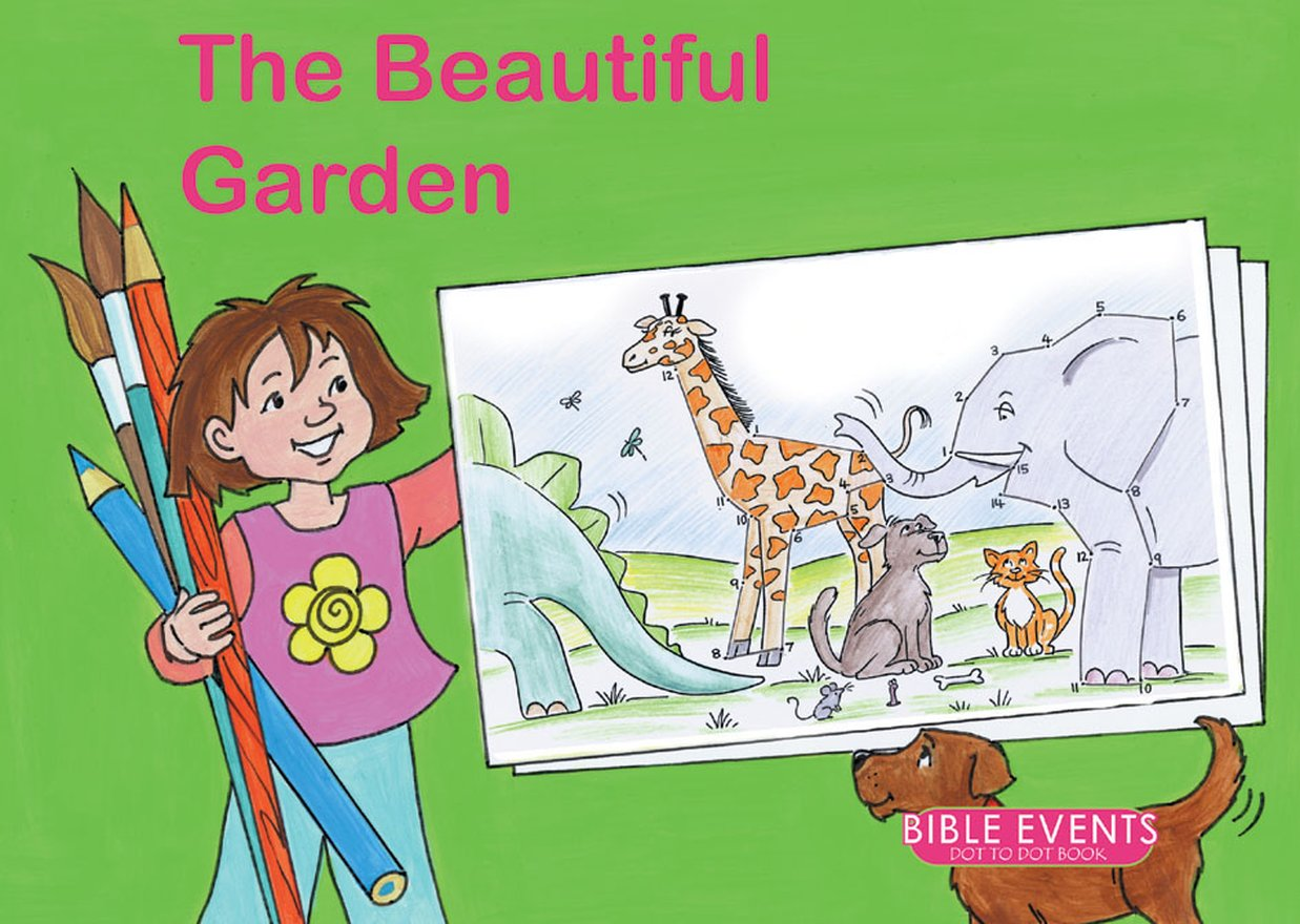 The Beautiful Garden, Bible Events Dot to Dot Book
