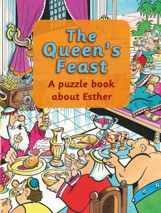 The Queen's Feast, A puzzle book about Esther