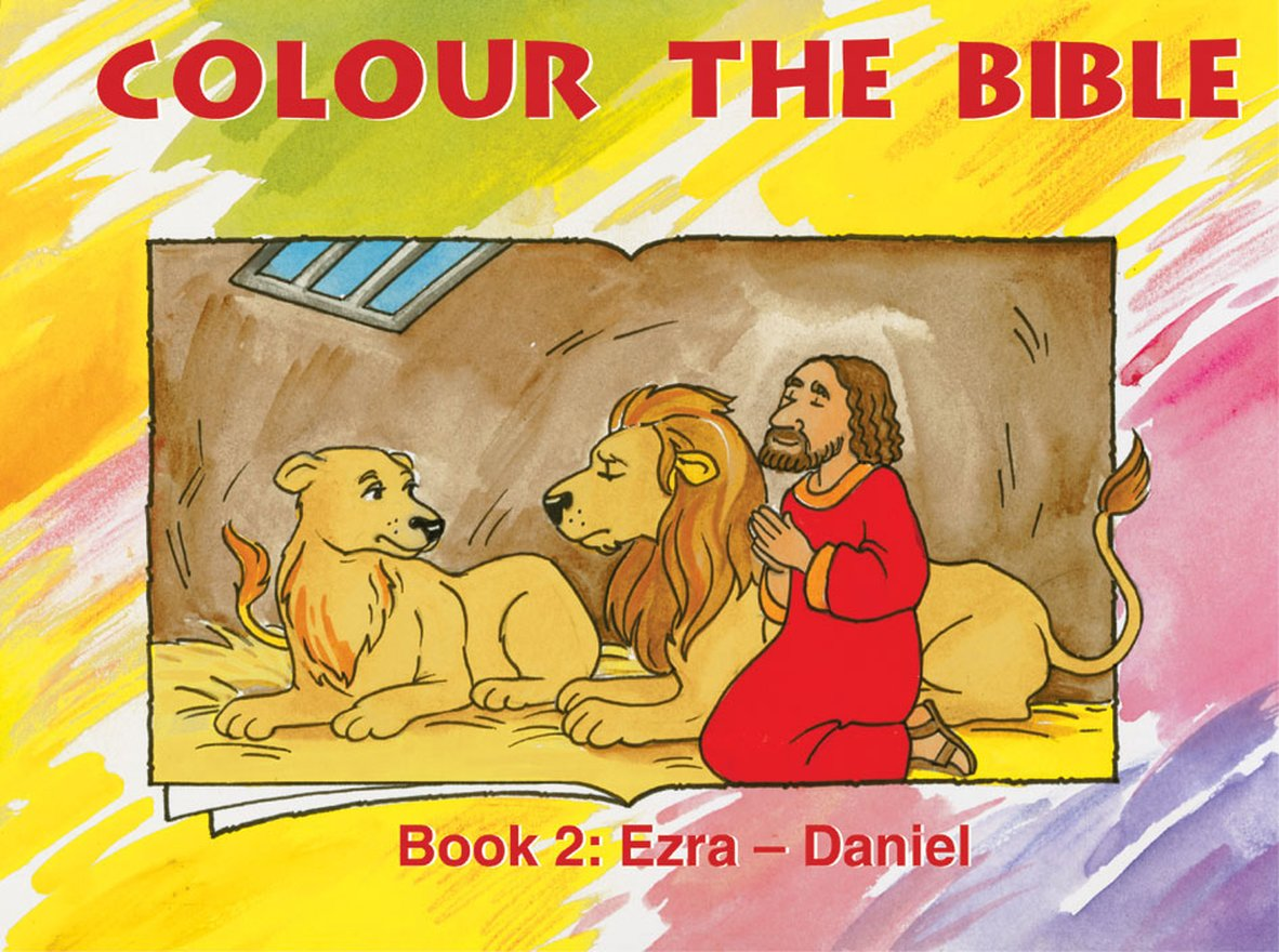 Colour the Bible Book 2, Ezra - Daniel