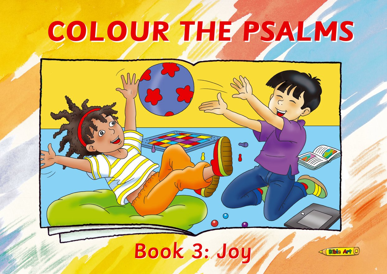 Colour the Psalms Book 3, Joy