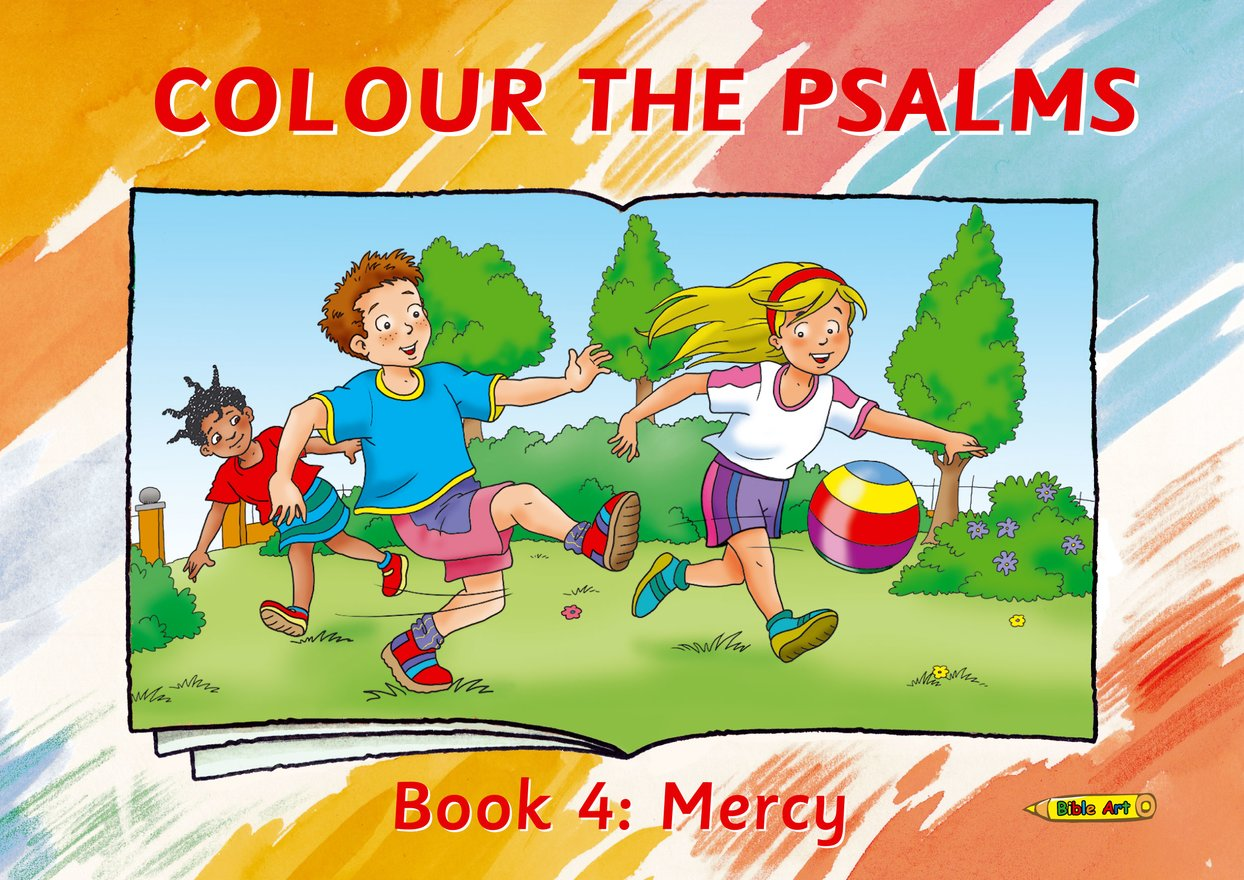 Colour the Psalms Book 4, Mercy