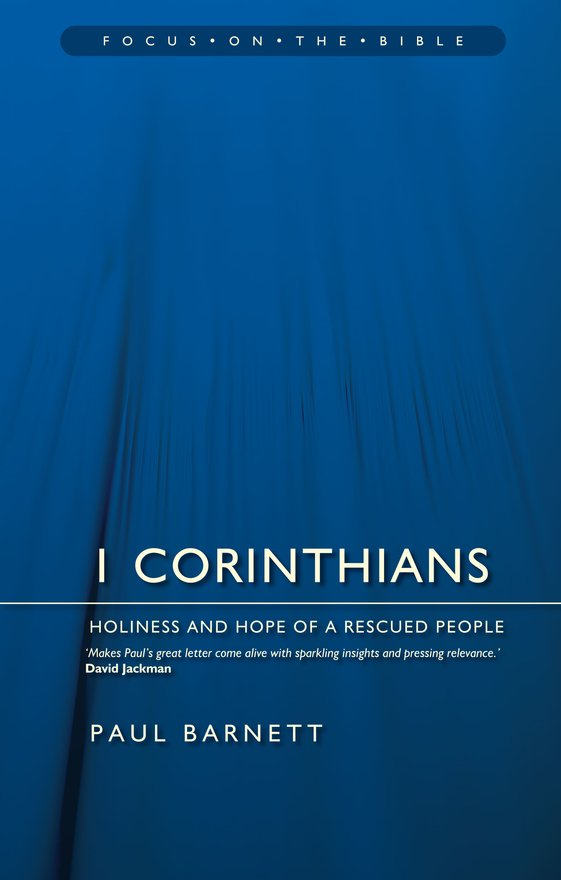 1 Corinthians, Holiness and Hope of a Rescued People