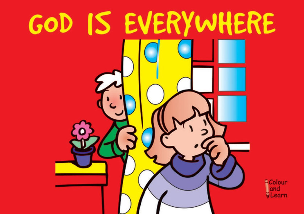God Is Everywhere, Colour and Learn