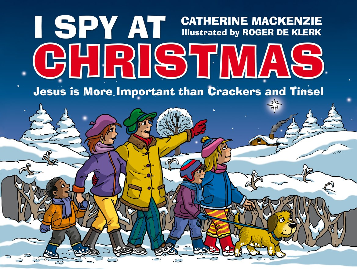 I Spy At Christmas, Jesus is More Important than Crackers and Tinsel