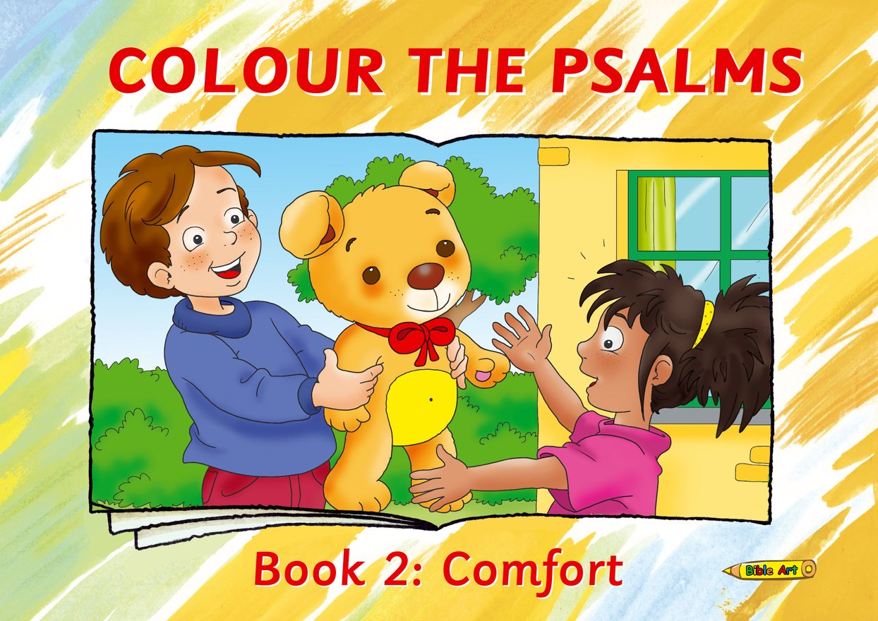Colour the Psalms Book 2, Comfort