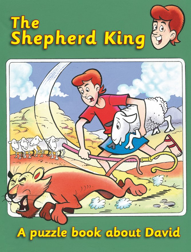 The Shepherd King, A puzzle book about David