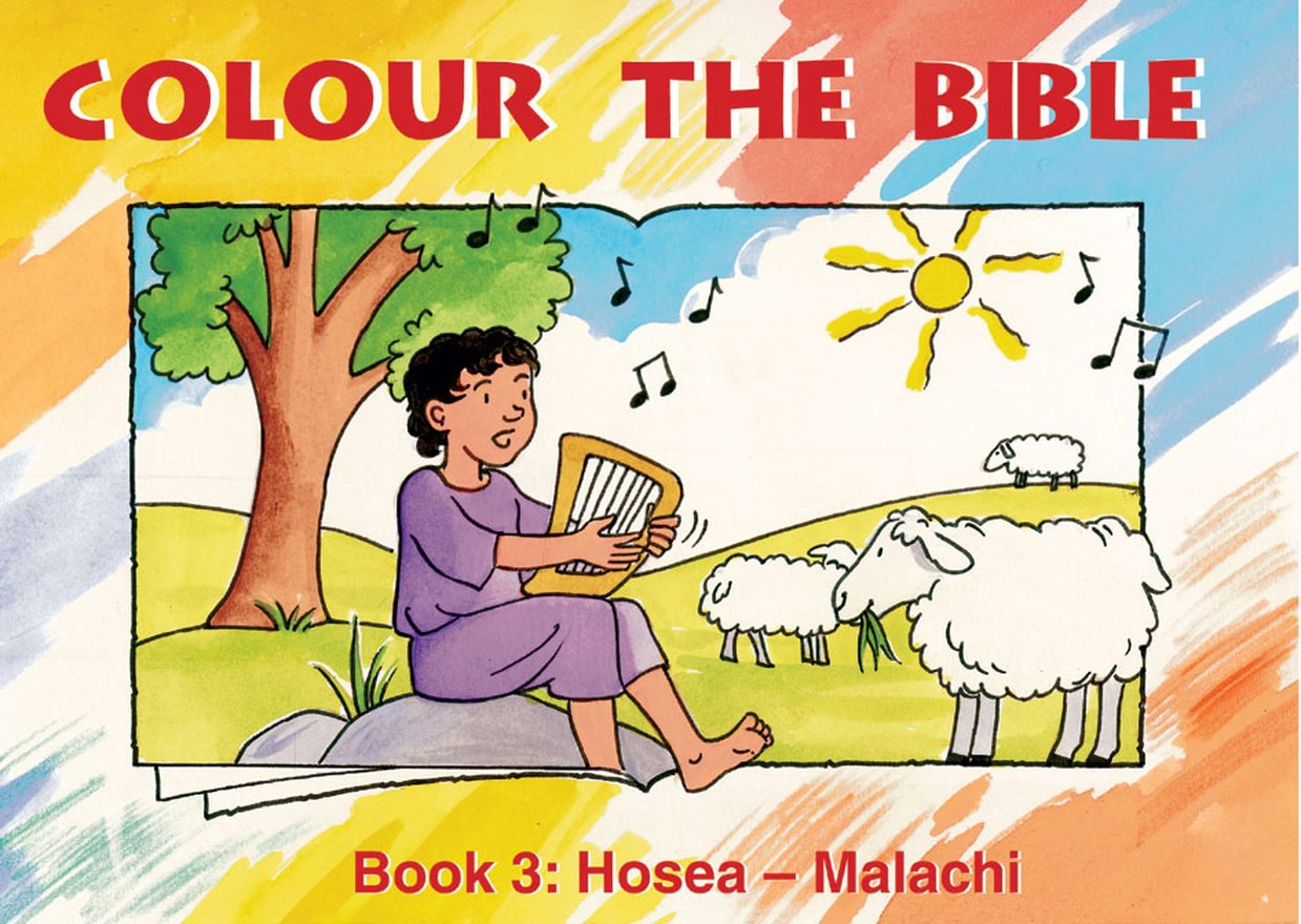 Colour the Bible Book 3, Hosea - Malachi