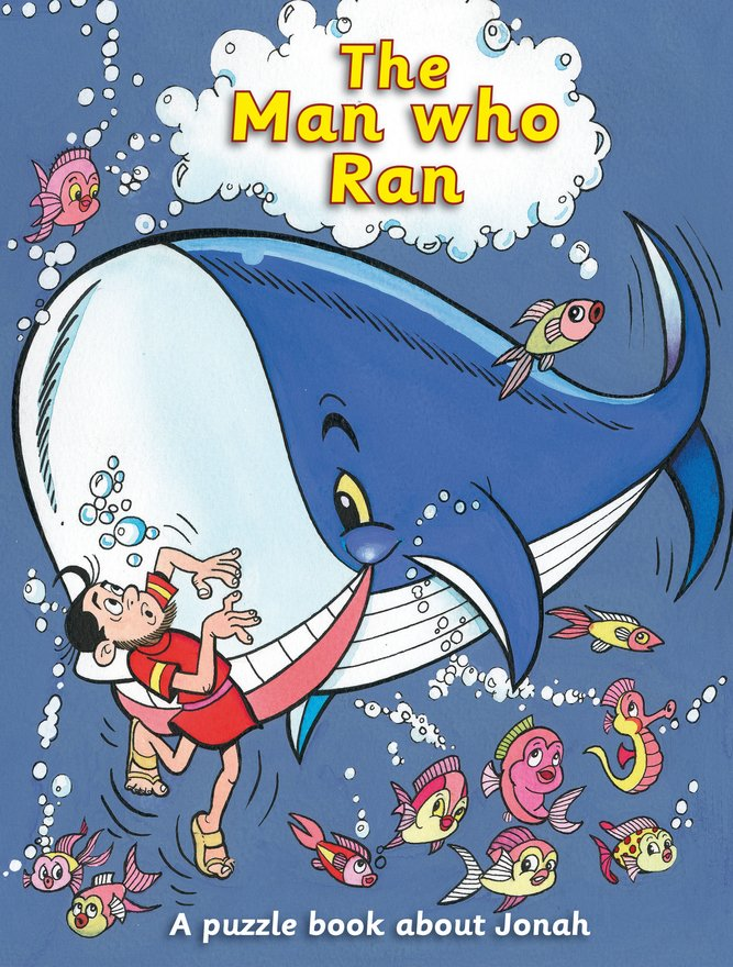 The Man Who Ran, A puzzle book about Jonah