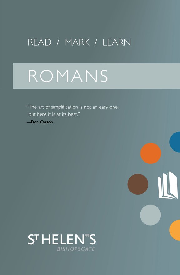 Read Mark Learn: Romans, A Small Group Bible Study