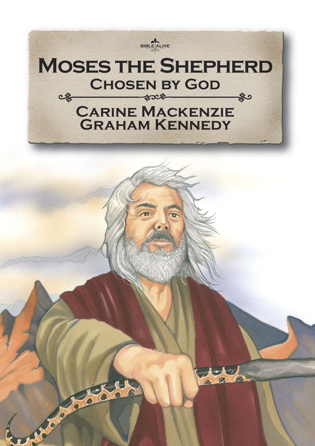 Moses the Shepherd, Chosen by God