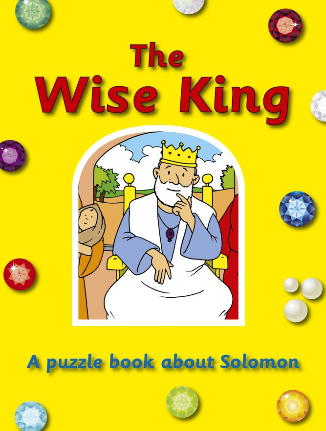 The Wise King, A puzzle book about Solomon