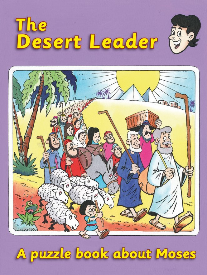 The Desert Leader, A puzzle book about Moses