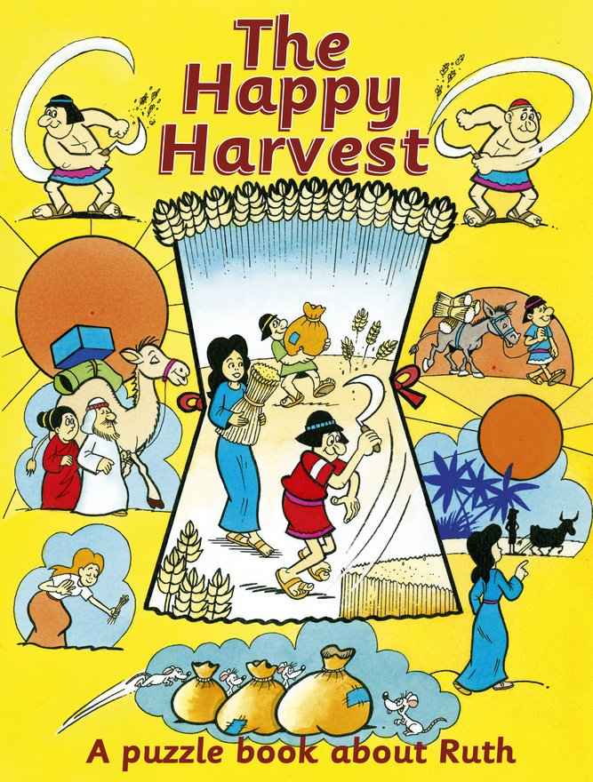 The Happy Harvest, A puzzle book about Ruth