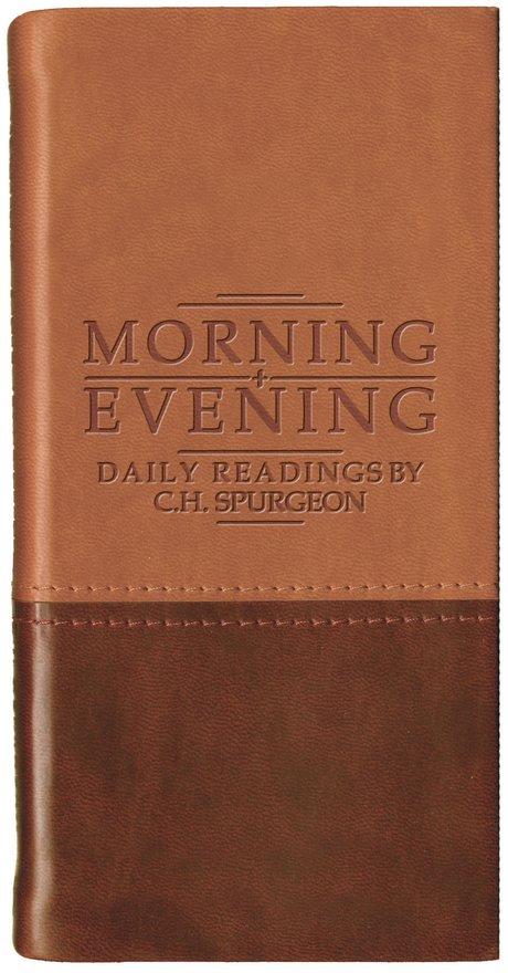 Morning And Evening - Matt Tan/Burgundy