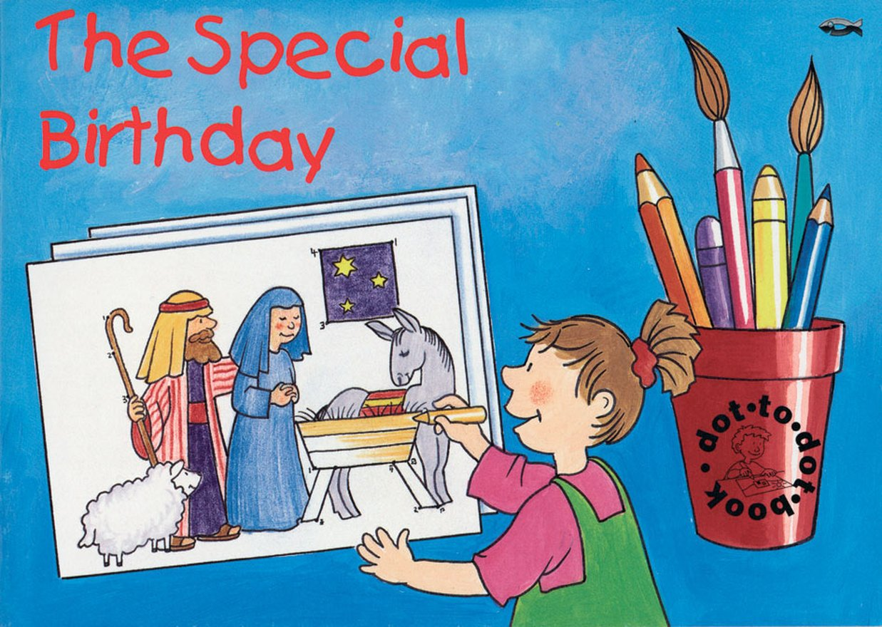 The Special Birthday, Bible Events Dot to Dot Book