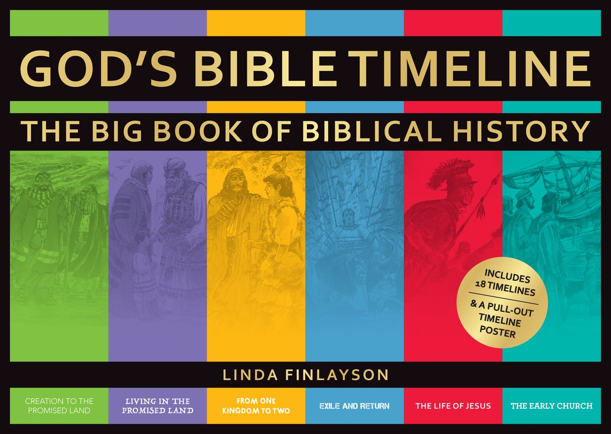 God's Bible Timeline, The Big Book of Biblical History