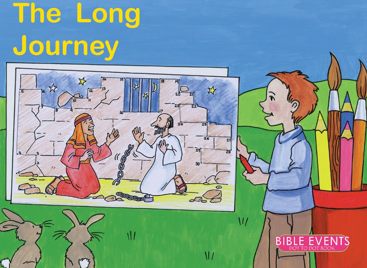The Long Journey, Bible Events Dot to Dot Book