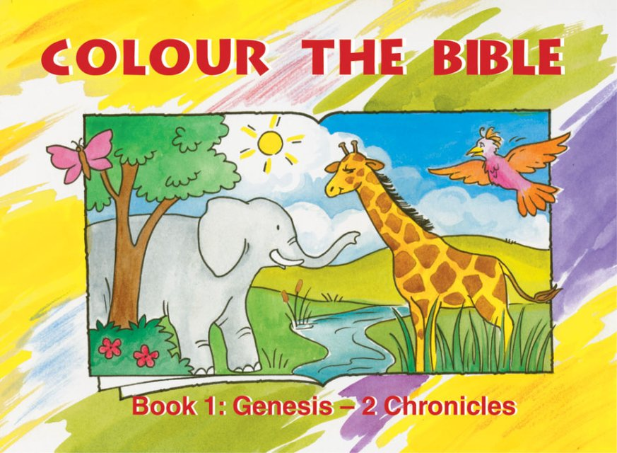 Colour the Bible Book 1Genesis - 2 Chronicles