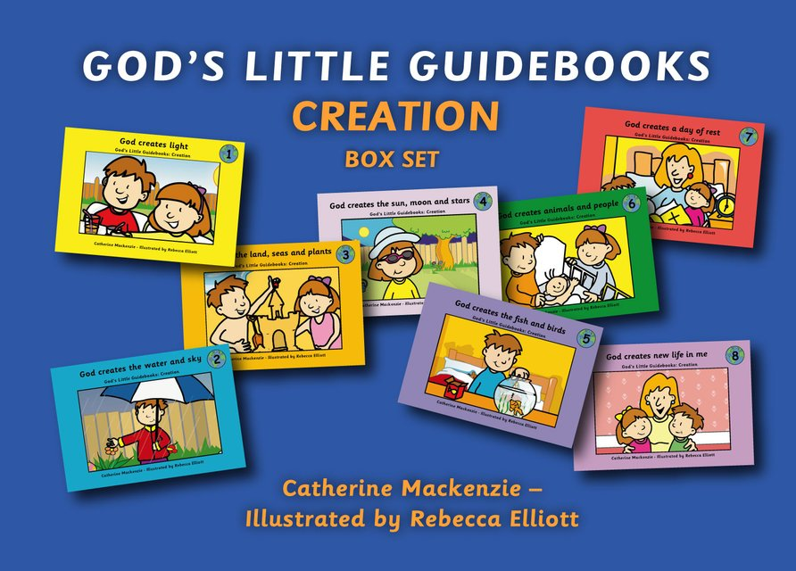 God's Little Guidebooks Creation8 Books Box Set