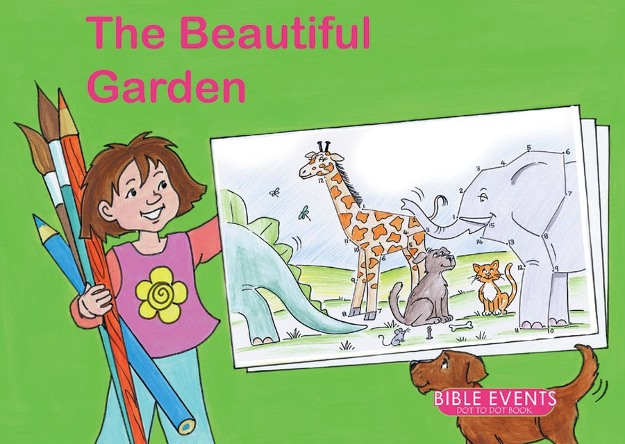 The Beautiful GardenBible Events Dot to Dot Book