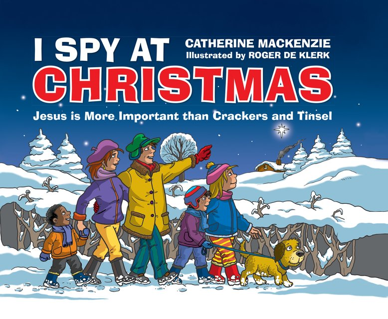 I Spy At ChristmasJesus is More Important than Crackers and Tinsel
