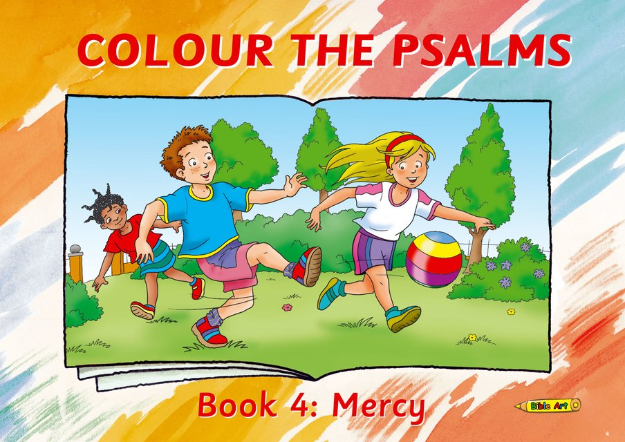 Colour the Psalms Book 4Mercy