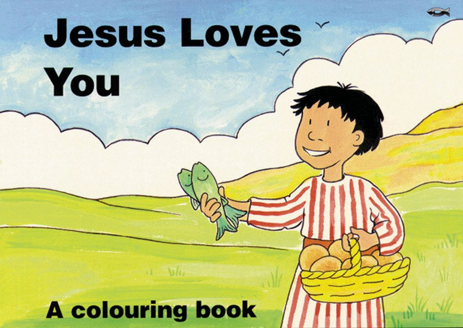 Jesus Loves YouA Colouring Book