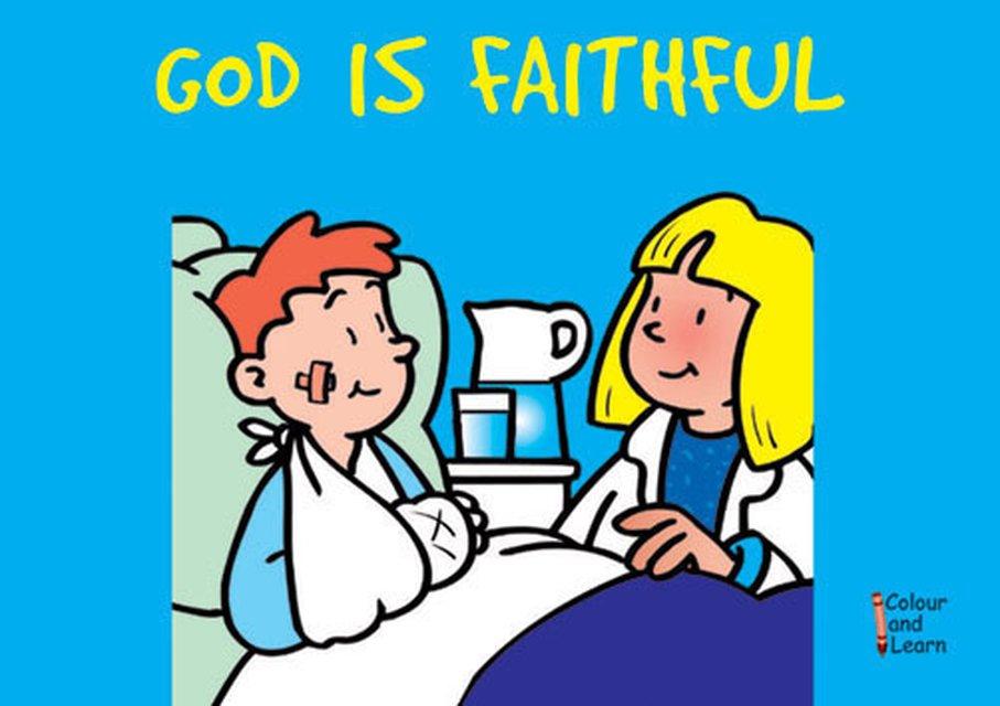 God Is FaithfulColour and Learn