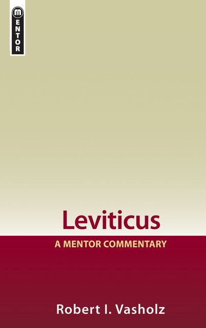 LeviticusA Mentor Commentary
