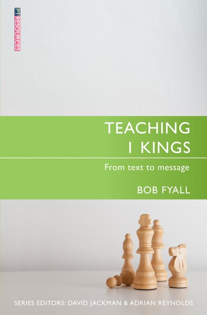 Teaching 1 KingsFrom Text to Message